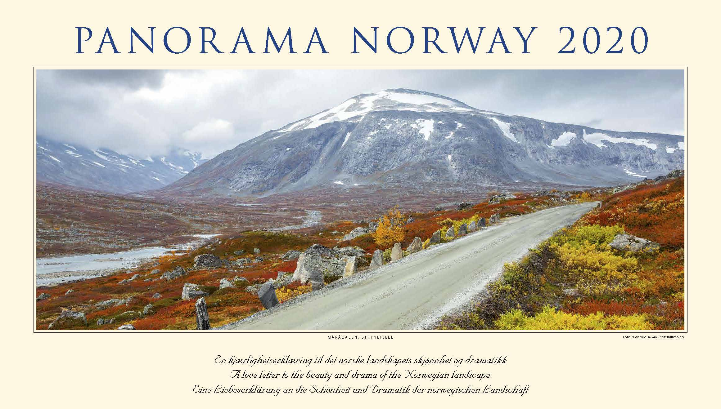 Kalender Panorama Norwegen 2020